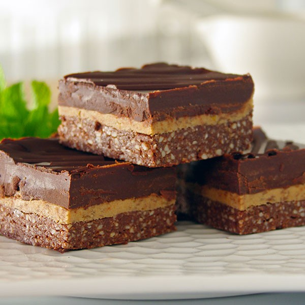 Choc Mint Slice
